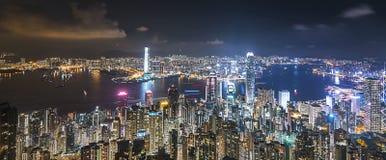 горизонт Hong Kong Стоковое фото RF
