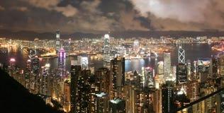 горизонт Hong Kong Стоковое Фото