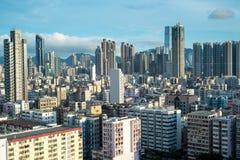 горизонт Hong Kong Стоковое Изображение
