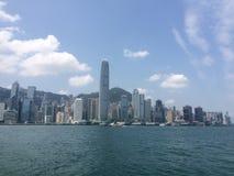 горизонт Hong Kong Стоковые Фото