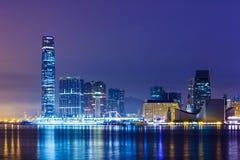 Горизонт Kowloon стоковое изображение