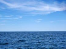 Горизонт Lake Michigan стоковая фотография rf