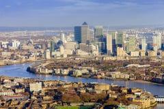 горизонт london города Стоковое Изображение