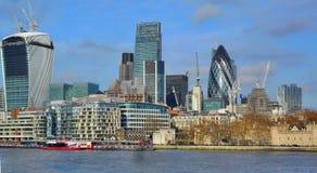 горизонт london города Стоковые Изображения