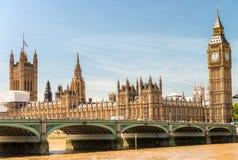 горизонт london иллюстрации конструкции вы Красивый ориентир ориентир города, Великобритания Стоковые Изображения RF
