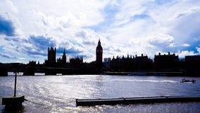 горизонт london светлого тонового изображения Стоковое Фото