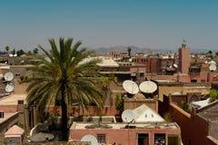 Горизонт Marrakech стоковое изображение rf