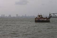 Горизонт megalopolis Мумбай стоковое изображение