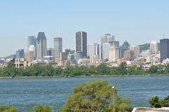 горизонт montreal города Стоковые Фотографии RF