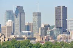горизонт montreal города Стоковое Фото