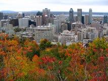 горизонт montreal осени Стоковое Фото