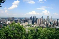 горизонт montreal Стоковое фото RF