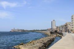 Горизонт morro Гаваны Стоковое Изображение