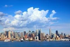 Горизонт New York Стоковое фото RF