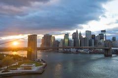 Горизонт New York Стоковые Фото
