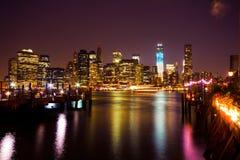 Горизонт New York City Стоковая Фотография