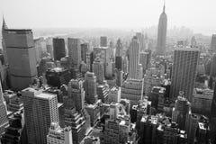 Горизонт New York City Стоковое Изображение RF