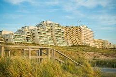 Горизонт Noordwijk прибрежный, Голландия Стоковая Фотография