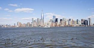 Горизонт NYC стоковое фото