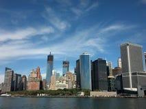 Горизонт NYC Стоковое фото RF