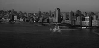Горизонт NYC Стоковое Изображение RF