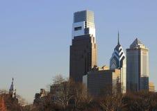 горизонт PA philadelphia здание муниципалитет стоковая фотография