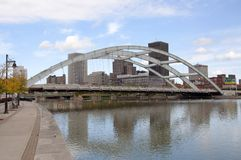 Горизонт Rochester, нью-йорк, США Стоковая Фотография