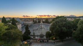 горизонт rome Стоковое Фото