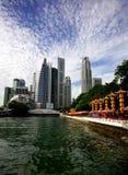 горизонт singapore Стоковое Изображение