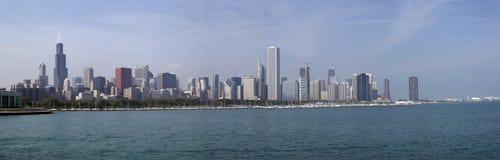 горизонт soc01 панорамы chicago стоковая фотография rf