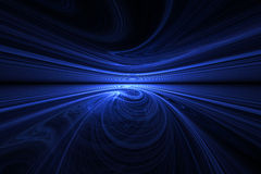 горизонт swirly Стоковые Фото