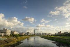 горизонт taipei города Стоковое Изображение RF