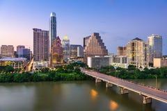 горизонт texas austin Стоковая Фотография RF