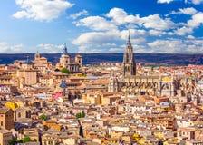 Горизонт Toledo, Испании Стоковые Фото