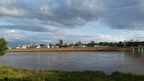 Горизонт Topeka, Канзаса Стоковые Изображения RF