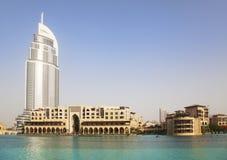 горизонт UAE Дубай Стоковые Изображения RF