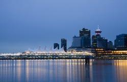 горизонт vancouver Канады Стоковое фото RF