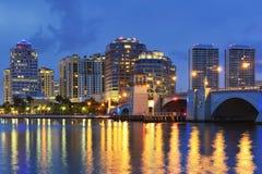 Горизонт West Palm Beach стоковая фотография rf