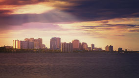 Горизонт West Palm Beach стоковое фото