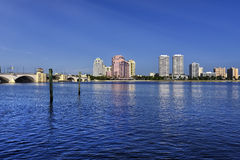 Горизонт West Palm Beach стоковое изображение