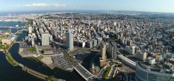 горизонт yokohama японии Стоковое Изображение RF