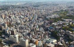 горизонт yokohama японии Стоковое фото RF