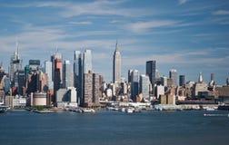 горизонт york города новый Стоковые Изображения RF