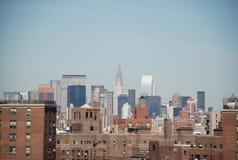 горизонт york города новый Стоковое Фото