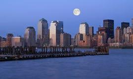 горизонт york города новый Стоковое Изображение