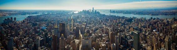 горизонт york города новый Стоковое фото RF