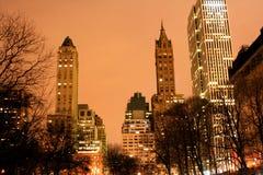 горизонт york парка manhattan главного города новый Стоковые Изображения