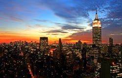 горизонт york центра города города новый Стоковое Фото