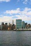 горизонт york manhattan города новый стоковое изображение