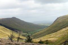 Гористая зона в Северной Ирландии Стоковое Изображение RF